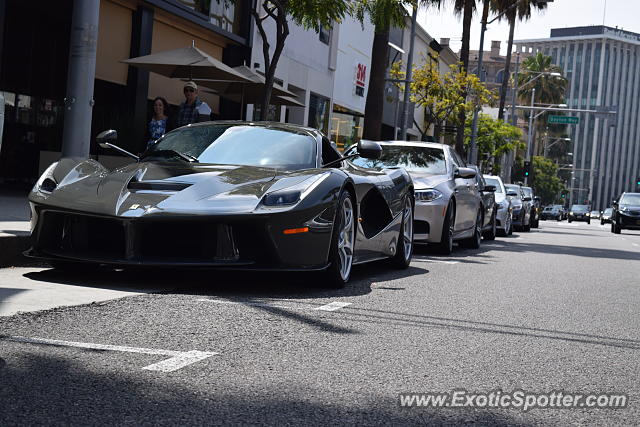 ferrari laferrari spotted in beverly hills california on 06 05 2016. Cars Review. Best American Auto & Cars Review