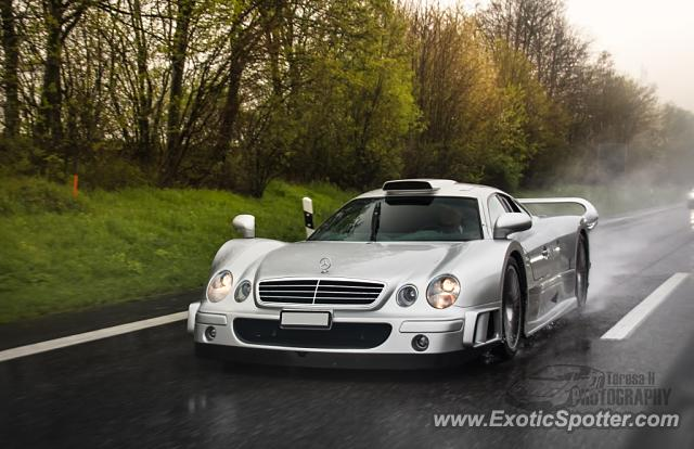 Mercedes CLK-GTR spotted in A6, Germany