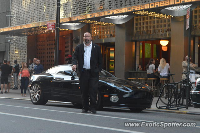 Aston Martin Vanquish Spotted In New York City New York On 06 11 2016