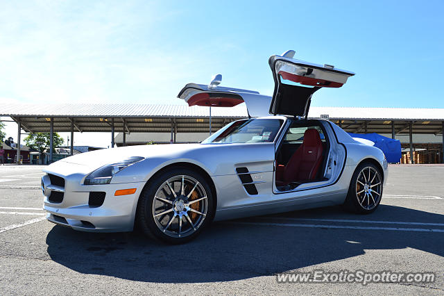 Mercedes sls amg spotted in rochester new york on 06 27 2014 for Mercedes benz rochester ny
