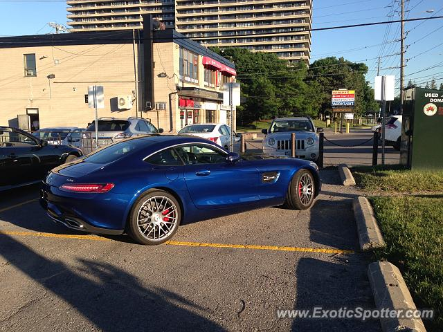 Mercedes AMG GT spotted in Thornhill, Canada