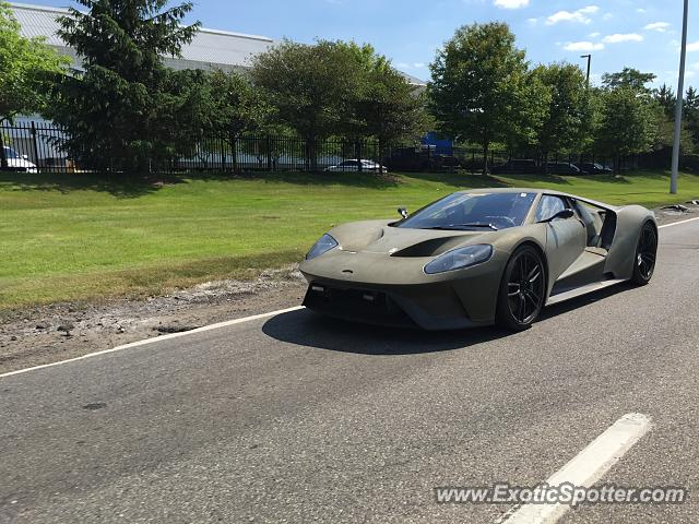 Ford GT spotted in Dearborn, Michigan