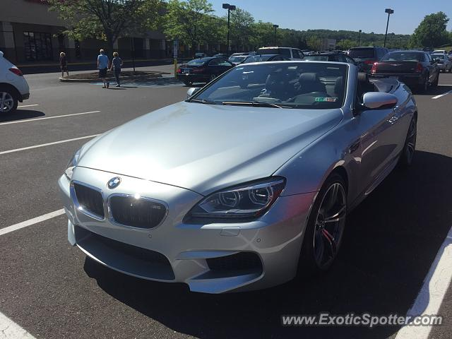bmw m6 spotted in doylestown pennsylvania on 06 18 2016. Black Bedroom Furniture Sets. Home Design Ideas