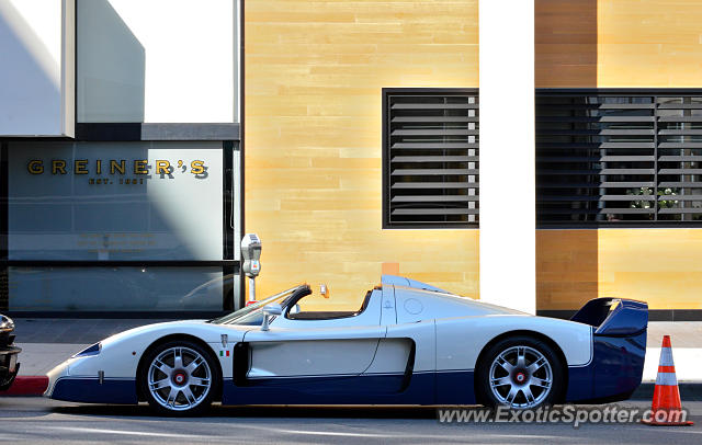 Maserati MC12 spotted in Beverly Hills, California