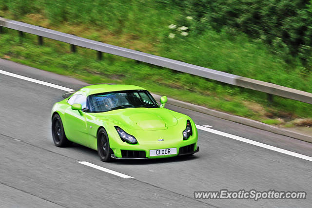 TVR Sagaris spotted in Bramham, United Kingdom