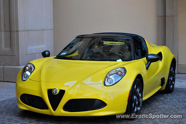 Alfa Romeo 4C spotted in Beverly Hills, California