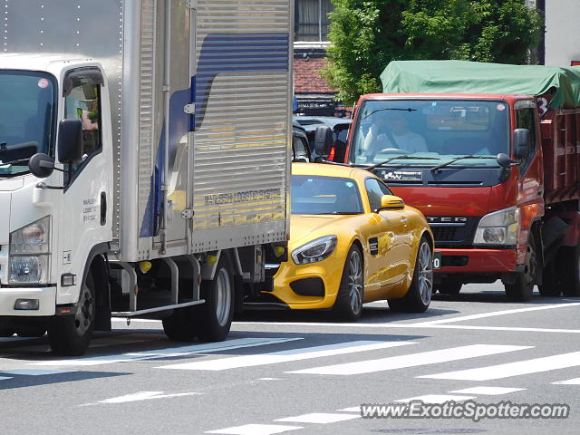 Mercedes AMG GT spotted in Osaka, Japan