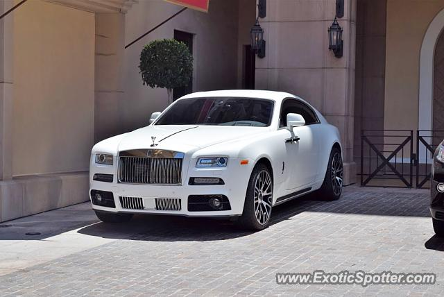 rolls royce wraith spotted in beverly hills california on 06 08 2016. Black Bedroom Furniture Sets. Home Design Ideas