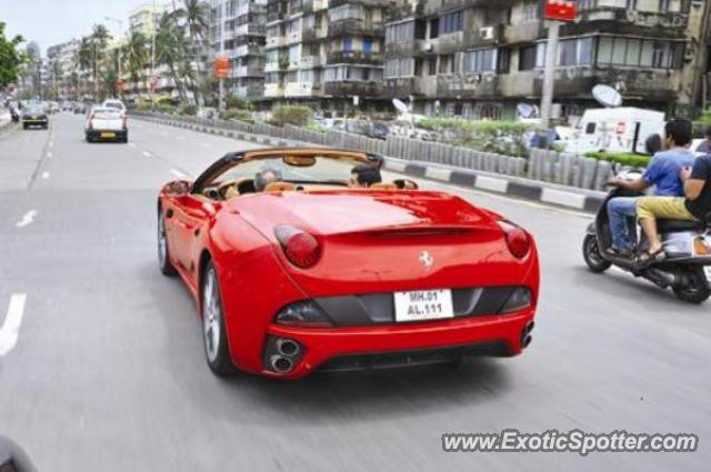 Ferrari California Spotted In Mumbai India On 08 04 2010