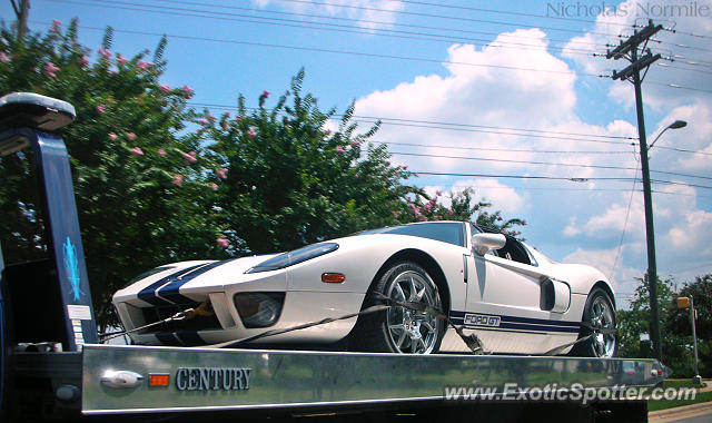 Ford GT spotted in Charlotte, North Carolina