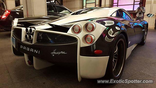 Pagani Huayra spotted in Toronto, Canada on 07/05/2016