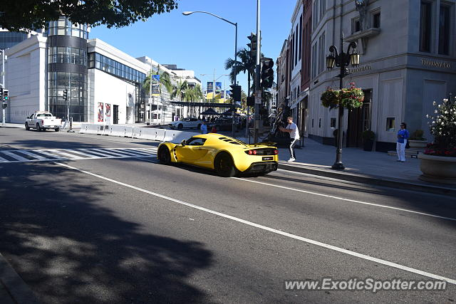 Hennessey Venom GT spotted in Beverly Hills, California