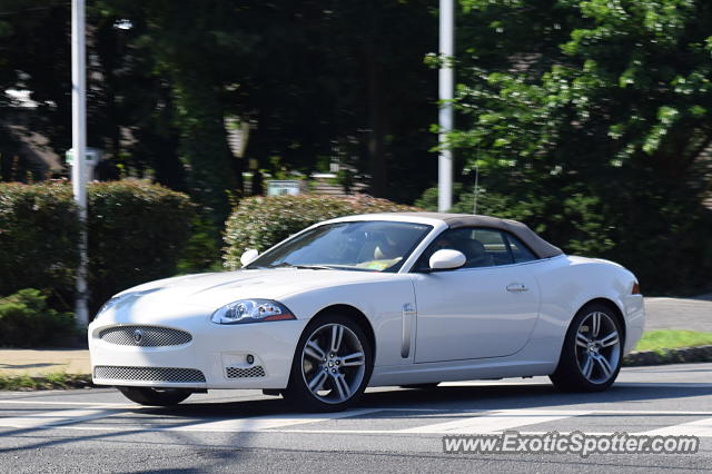 Jaguar XKR spotted in Chatham, New Jersey