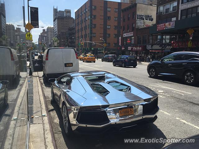 Lamborghini Aventador Spotted In Nyc New York On 07 21 2016