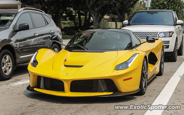Ferrari LaFerrari spotted in Los Angeles, California on 07\/23\/2016