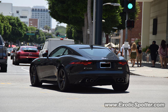Jaguar F-Type spotted in Beverly Hills, California