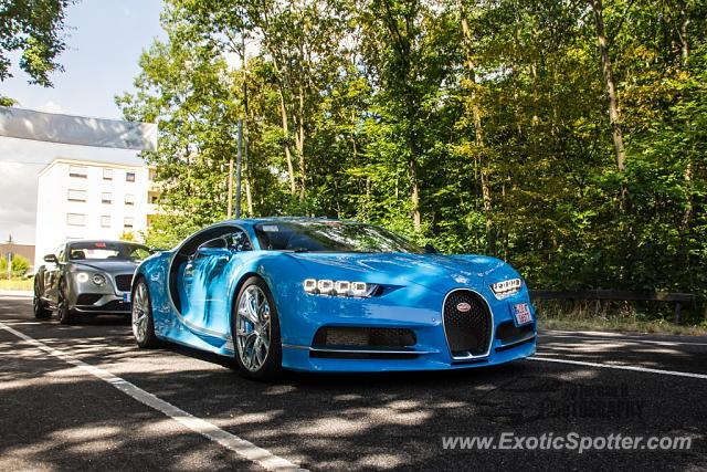Bugatti Chiron spotted in Hockenheim, Germany