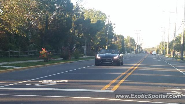 Jaguar F-Type spotted in Bayhead, New Jersey