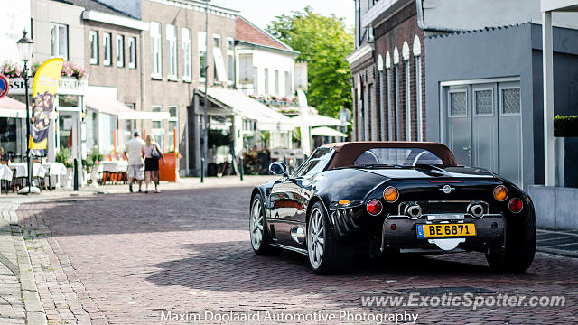 Spyker C8 spotted in Philippine, Netherlands