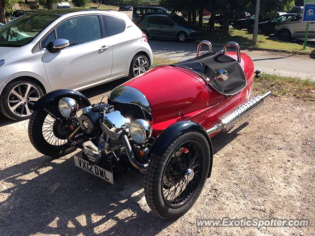 Morgan 3 Wheeler spotted in Villecroze, France