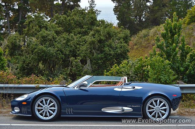 Spyker C8 spotted in Carmel Highlands, California