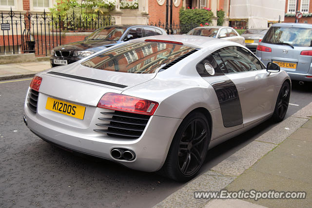 Audi R8 spotted in London, United Kingdom