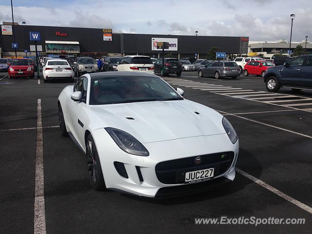 Jaguar F-Type spotted in Albany, New Zealand