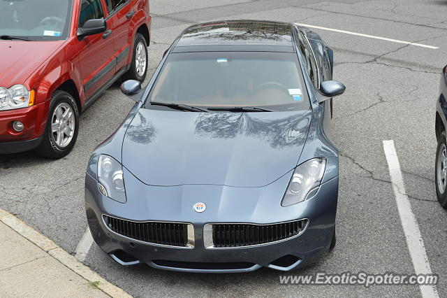 Fisker Karma spotted in Greenwichh, Connecticut