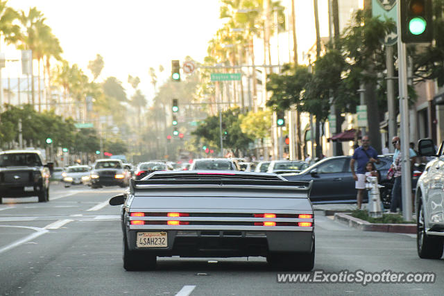 Vector W8 spotted in Beverly Hills, California