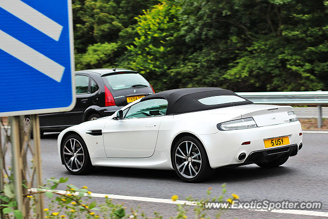 Aston United Kingdom  city photo : Aston Martin Vantage spotted in Cambridge, United Kingdom on 09/07 ...