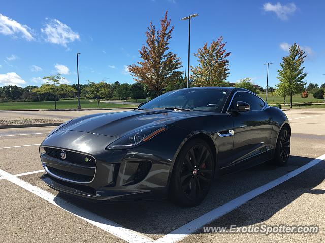 Jaguar F-Type spotted in Madison, Wisconsin