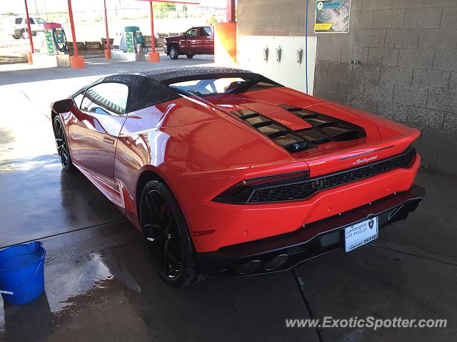 lamborghini huracan spotted in albuquerque new mexico on 08 27 2016. Black Bedroom Furniture Sets. Home Design Ideas