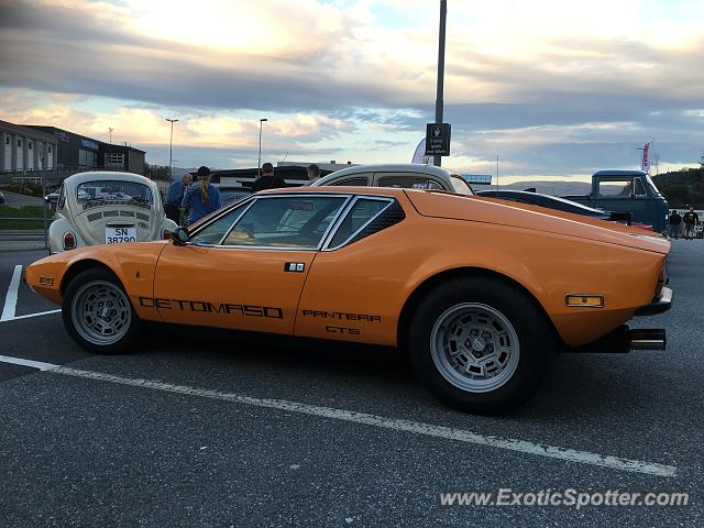 DeTomaso Pantera2 spotted in Bergen, Norway