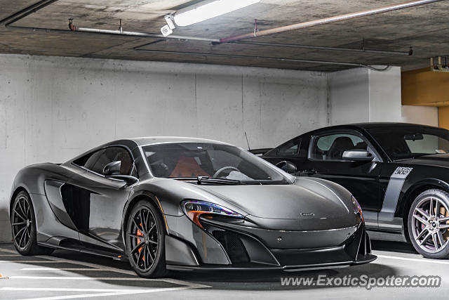 Mclaren 675LT spotted in McLean, Virginia