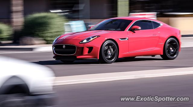 Jaguar F-Type spotted in Scottsdale, Arizona