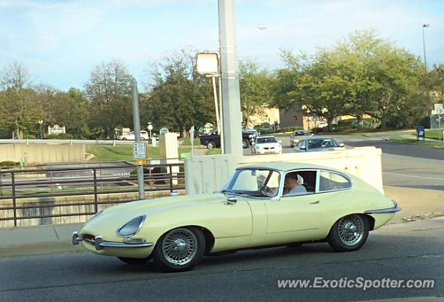 Jaguar E-Type spotted in Bloomington, Indiana