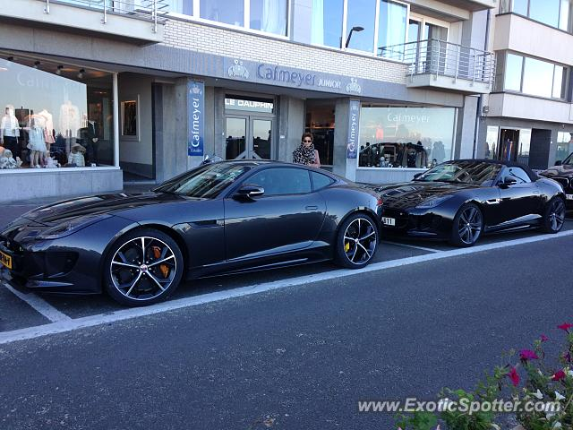 Jaguar F-Type spotted in Knokke, Belgium