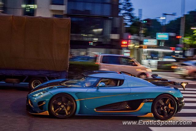 Koenigsegg Agera R spotted in Tokyo, Japan