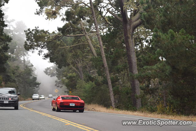 Lamborghini Miura spotted in Pebble Beach, California