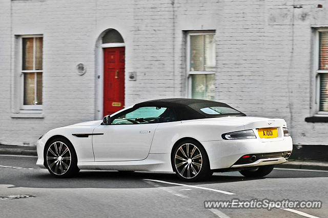 Aston United Kingdom  City new picture : Aston Martin DB9 spotted in Rye, United Kingdom on 09/21/2016