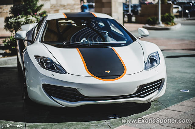 Mclaren MP4-12C spotted in Lone Tree, Colorado