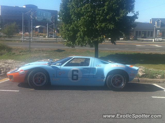 Ford GT spotted in Kington, New York