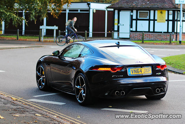 Jaguar F-Type spotted in Cambridge, United Kingdom