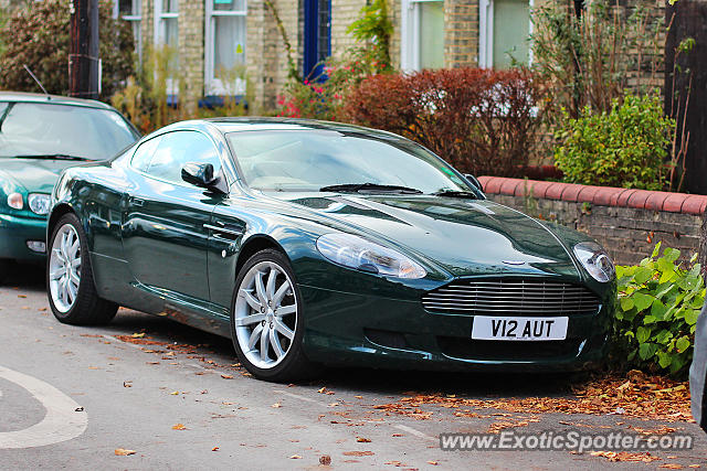 Aston United Kingdom  City pictures : Aston Martin DB9 spotted in Cambridge, United Kingdom on 11/05/2016