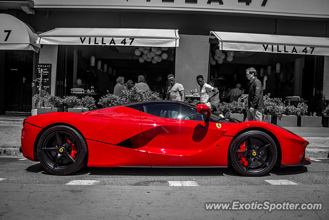 Laferrari In South Africa >> Ferrari LaFerrari spotted in Cape TOwn, South Africa on 11/09/2016