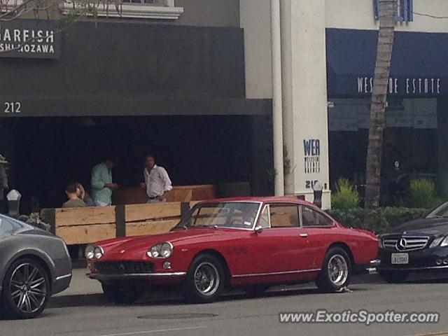 Ferrari 330 GTC spotted in Beverly Hills, California