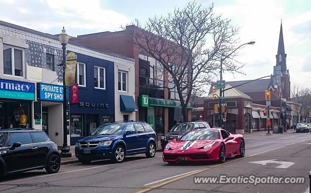 Oakville (ON) Canada  city photos gallery : ... 458 Italia spotted in Oakville, ON, Canada on 05/03/2015, photo 4
