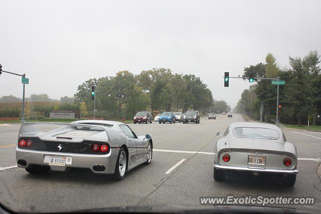 Ferrari F50 spotted in Lake Forest, Illinois