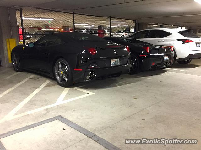 Ferrari 458 Italia spotted in Bellevue, Washington