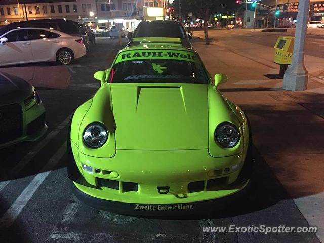 Porsche 911 spotted in Alhambra, California